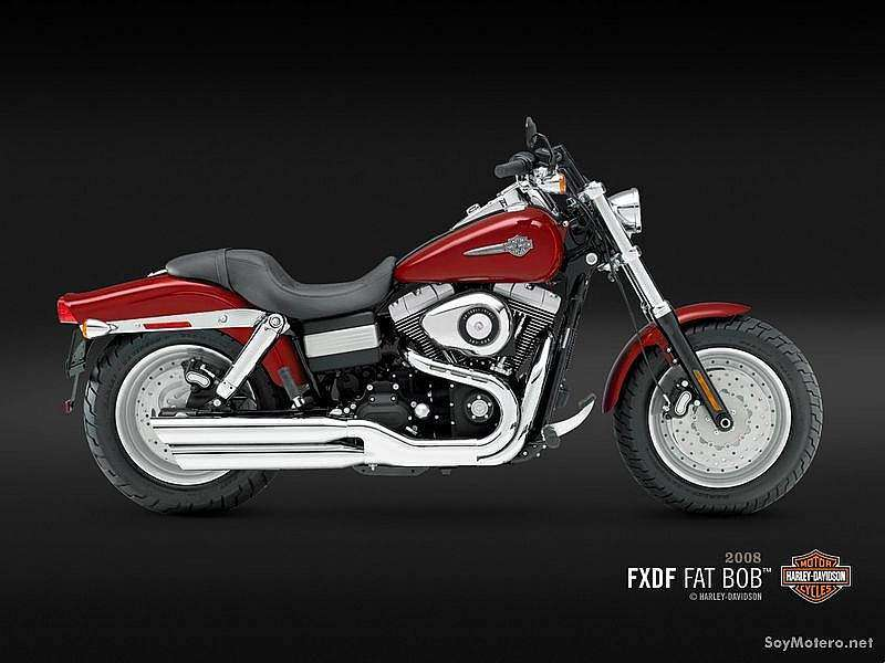 Harley Davidson Fat Bob™ - Candy Red Sunglo