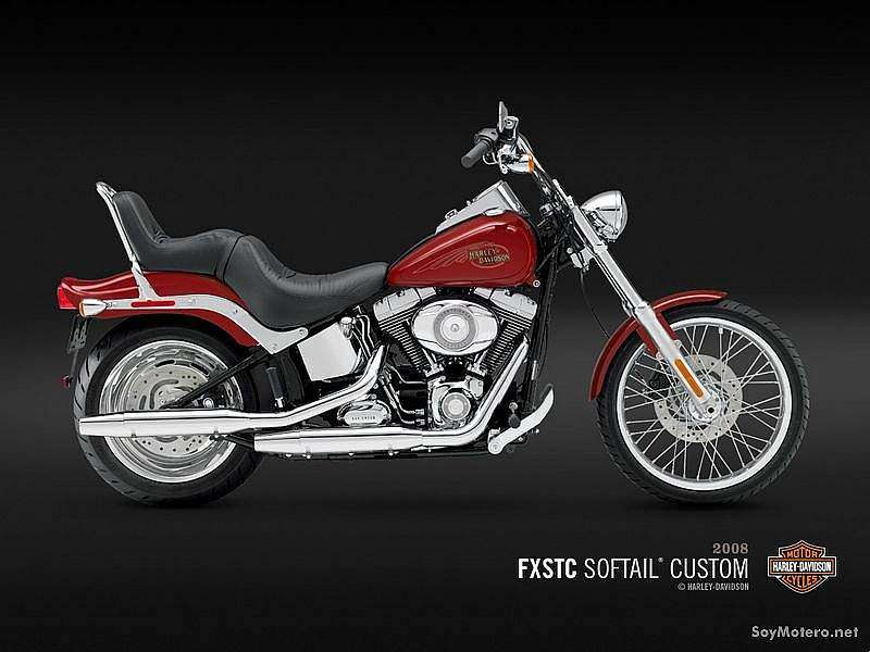 Harley Davidson Softail® Custom - Candy Red Sunglo