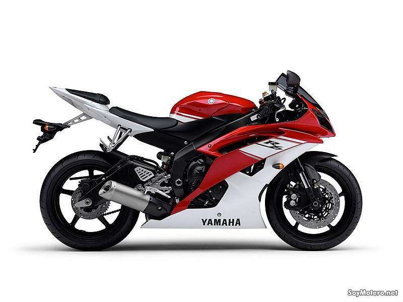 Yamaha YZF-R6 2009 - Racing Red