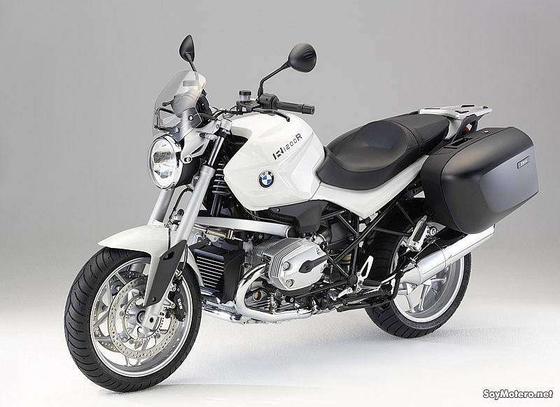 BMW R 1200 R Touring Special, pantalla, asiento, caballete central