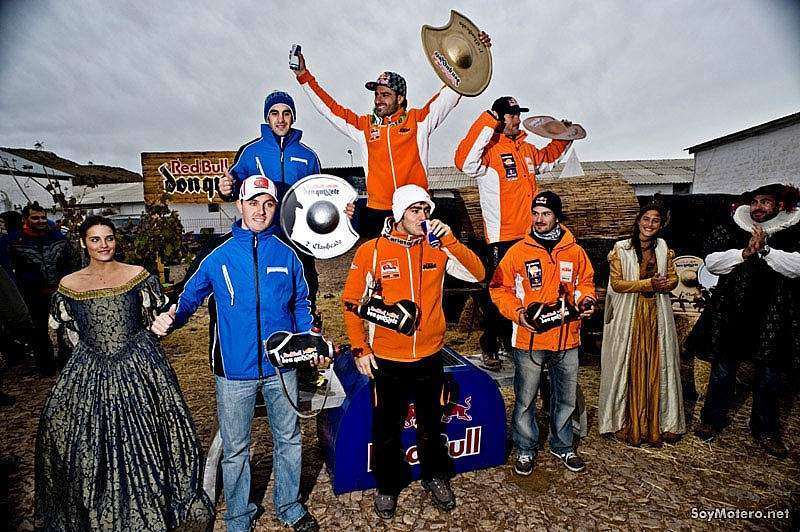 Red Bull Don Quixote - podium
