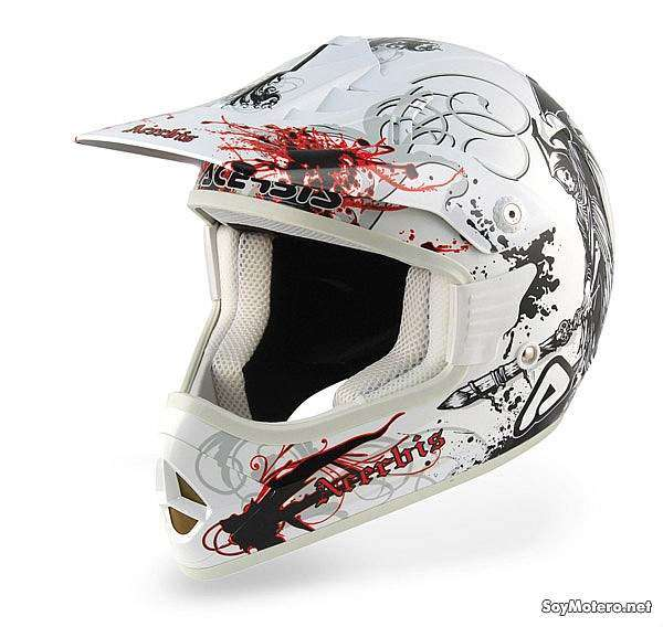 Acerbis X-Fiber Inquisitor - casco off-road