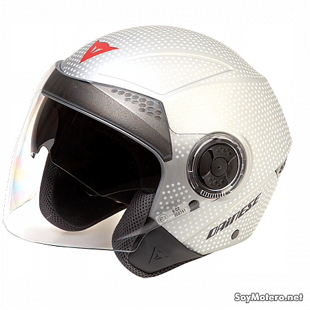 Casco Dainese Jet Stream Tourer Pop - Blanco