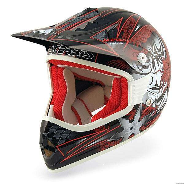 casco off road Acerbis X-Fiber Shaken