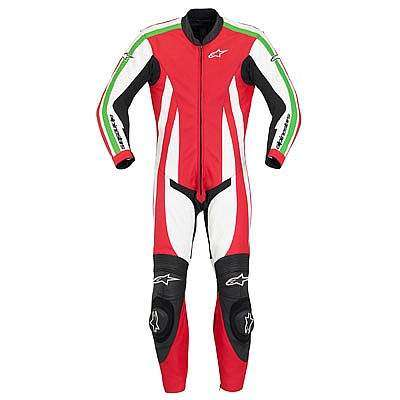 Alpinestar Monza Leather Suit - Vista delantera