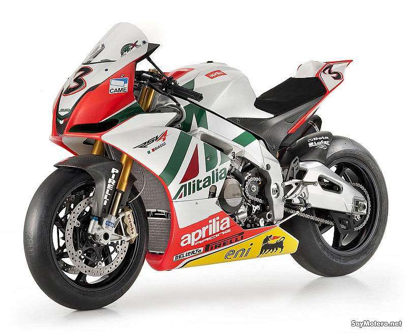 Aprilia Racing RSV4 Biaggi Replica