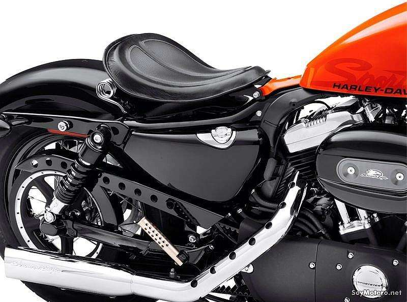 HD XL 1200X Forty-Eight - Asiento individual Spring