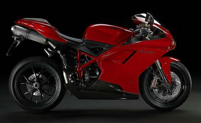 Ducati 848EVO 2011 - color rojo