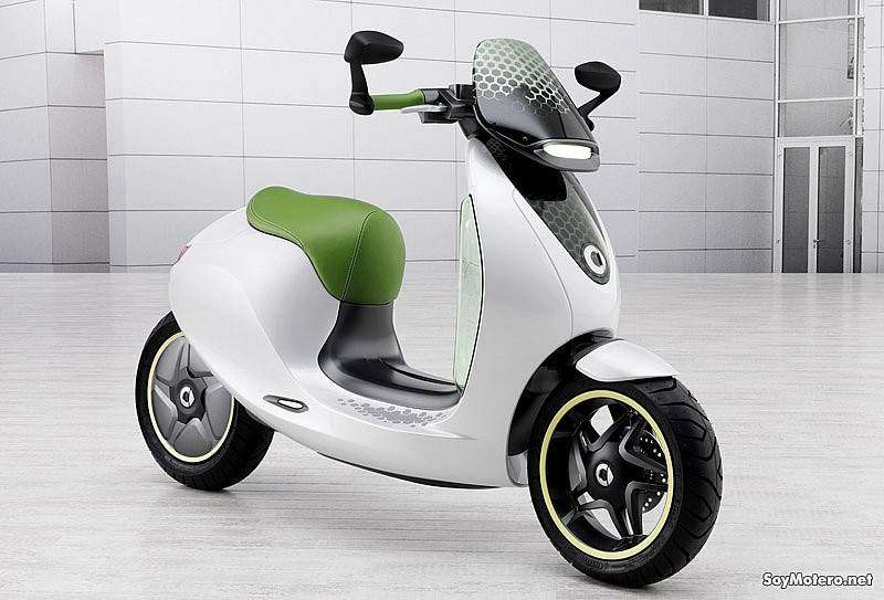 Smart escooter - scooter eléctrico de Smart