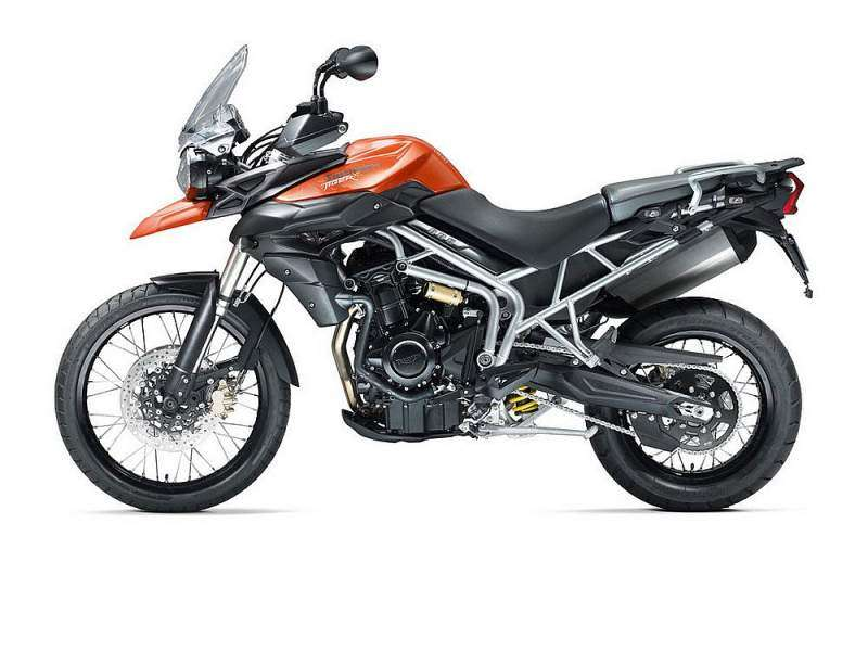 Triumph Tiger 800XC - vista lateral