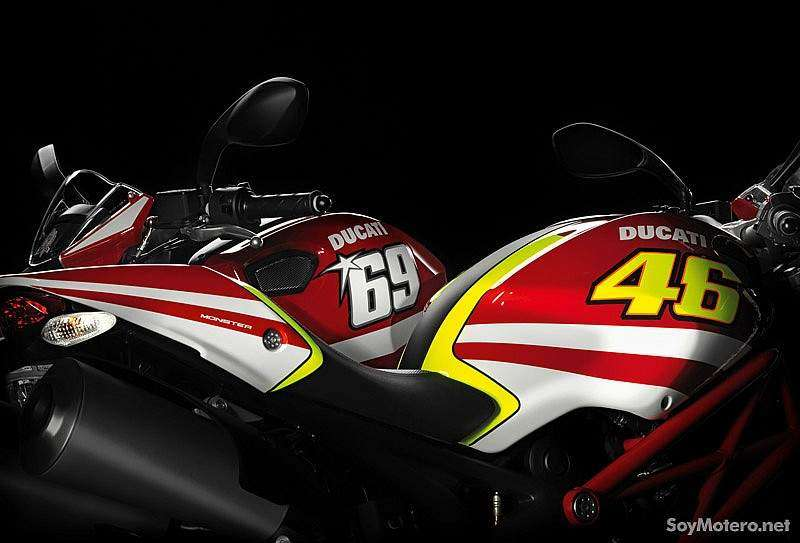 kits Monster Art Ducati GP Réplica Hayden y Rossi