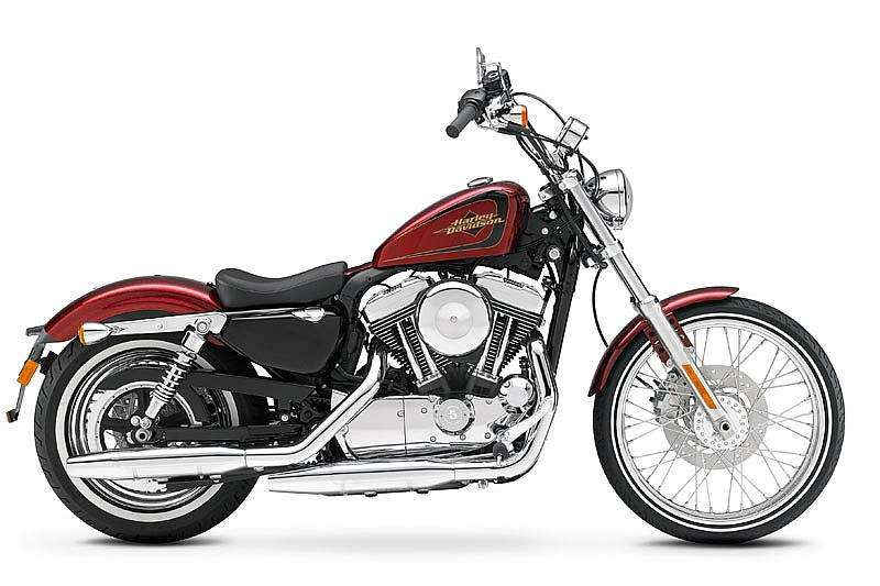 Harley-Davidson XL 1200V Seventy-Two color Ember Red Sunglo