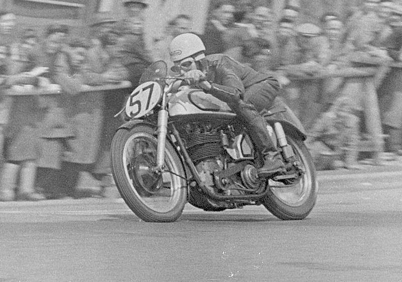 Geoff Duke, Norton, Tourist Trophy Isla de man