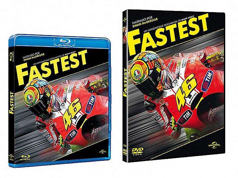 Fastest en Blu-Ray y DVD