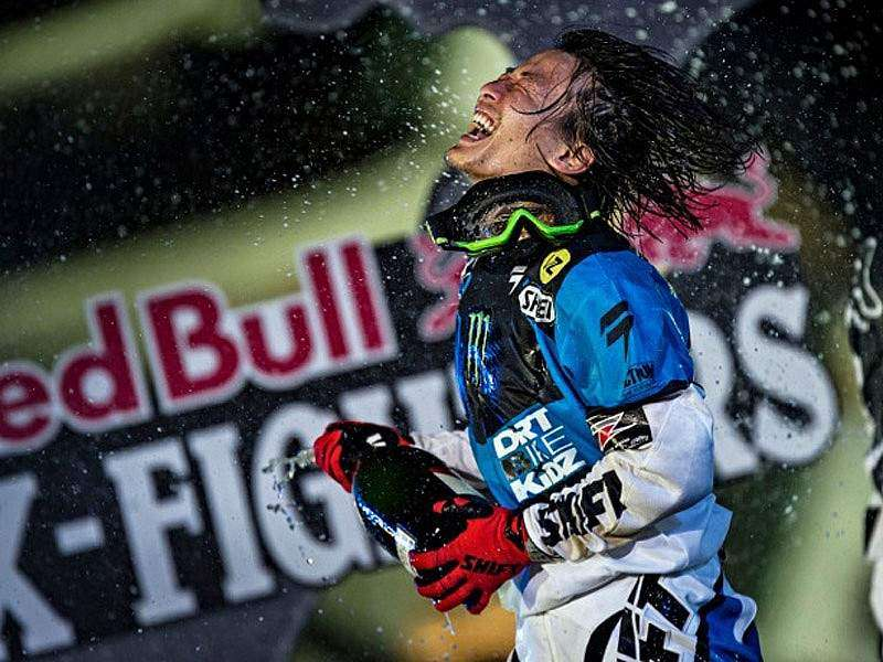Higashino Red Bull X-Fighters