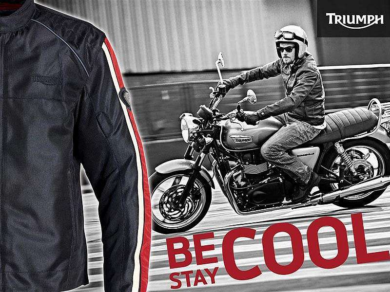 "Triumph promoción ""Be Cool, Stay Cool"""