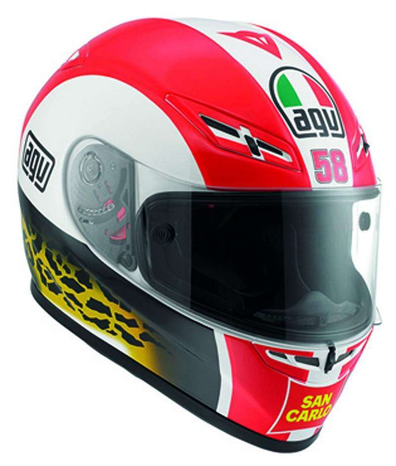 Casco AGV GP-Tech Homenaje Marco Simoncelli