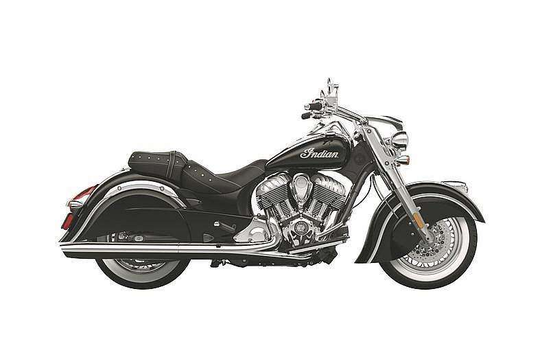 Indian Chief Classic 2014 negro Thunder