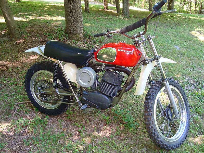 Husqvarna 250 Cross de 1971 recién restaurada