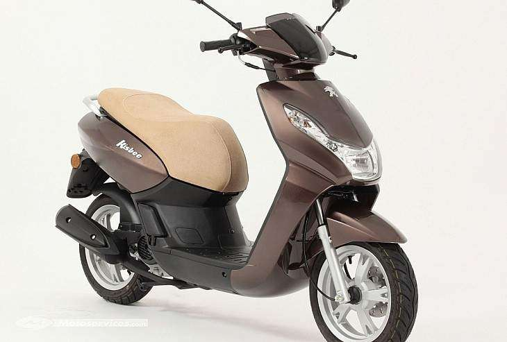 Peugeot Kisbee 50 2T color chocolate