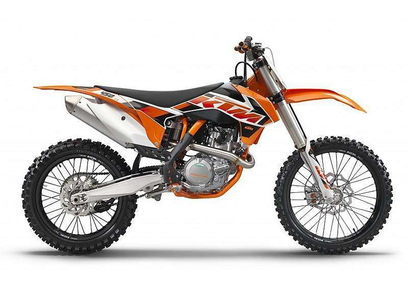 KTM 2015: SX_F 450 lateral