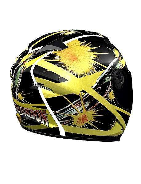 Casco NZI Flash Gordon FluoFlash