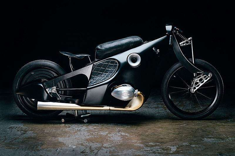 Revival BMW Landspeeder Motorcycle