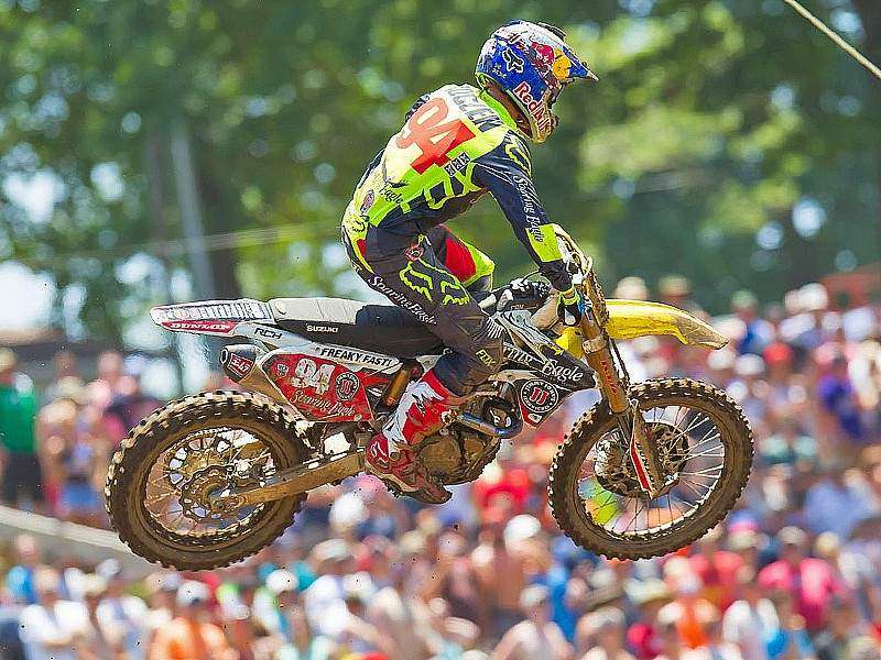 Doblete de Roczen en Muddy Creek.