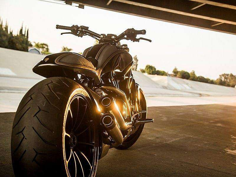 Ducati XDiavel Roland Sands trasera