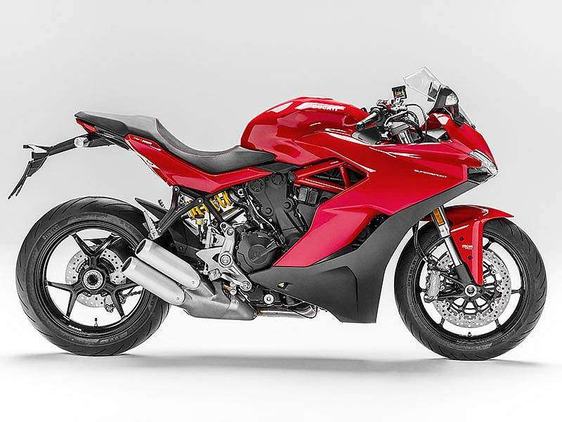 Ducati Supersport 2017 lateral