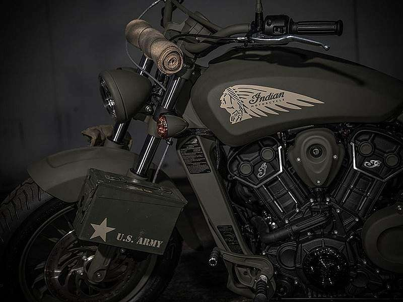 Indian Scout 741B Call of Duty Edition