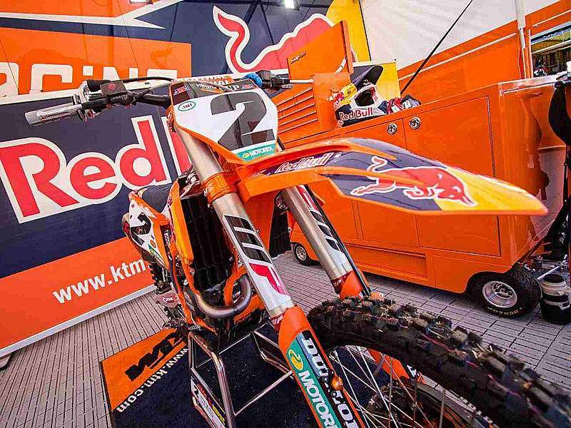 KTM 450 SX-F Racing Cooper Webb USA