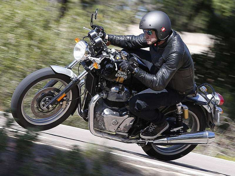 La Royal Enfield Continental GT 650 'Black Magic' cuesta 6.400 €