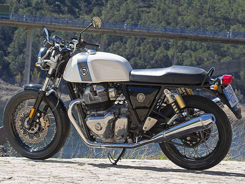 Royal Enfield Continental GT 650 'Ice Queen' 2019 de serie