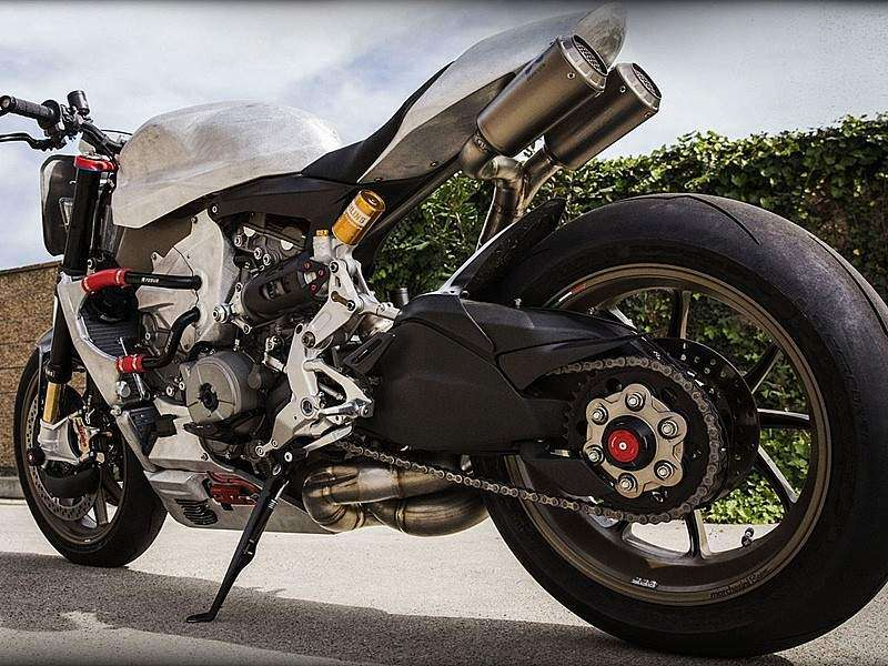 Roland Sands 1199 Superleggera Uncovered