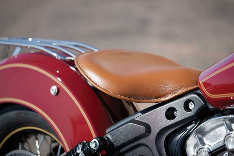 Asiento Indian Scout 100 Aniversario 2020