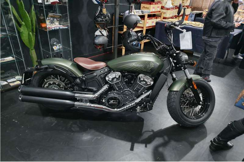 II Aniversario Milla Custom Indian. Bobber 2020