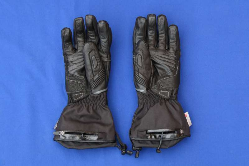 Guantes calefactables RST Paragon Thermo. Vista inferior