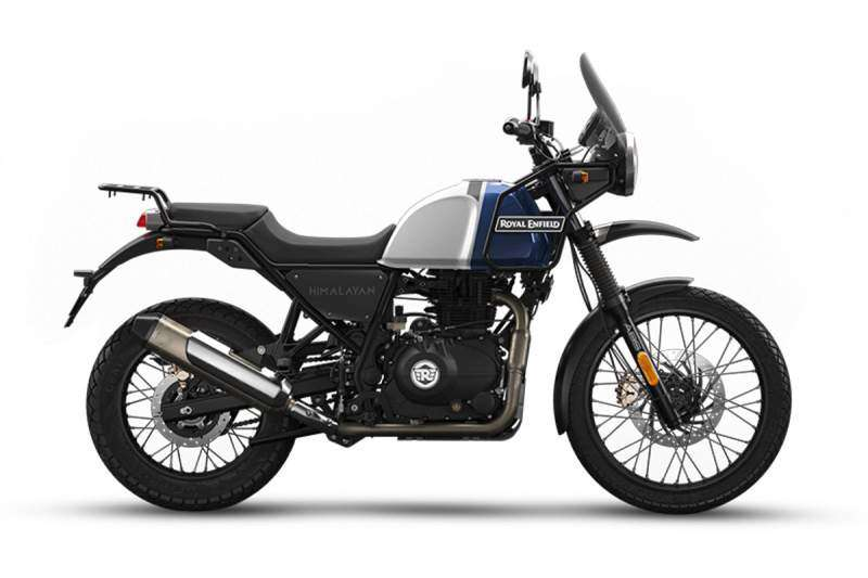 Royal Enfield Himalayan Lake Blue 2020