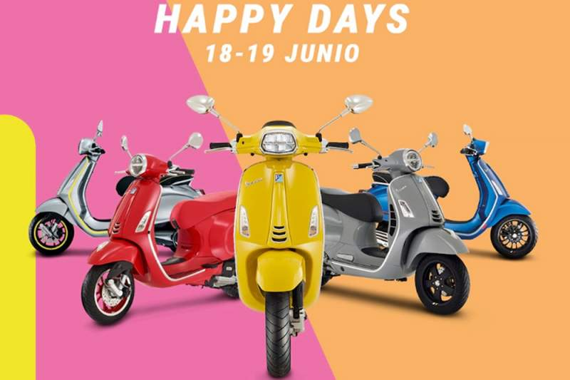 Llegan los Happy Days de Piaggio