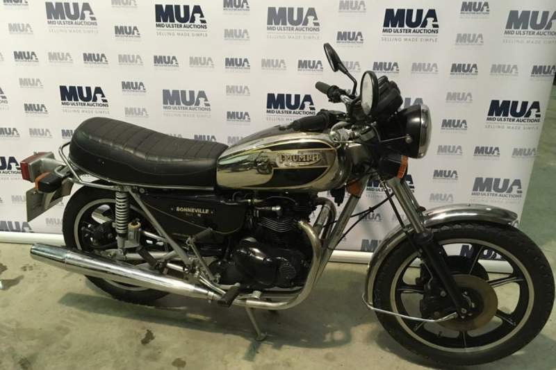 Triumph Bonneville T140 Royal Limited Edition